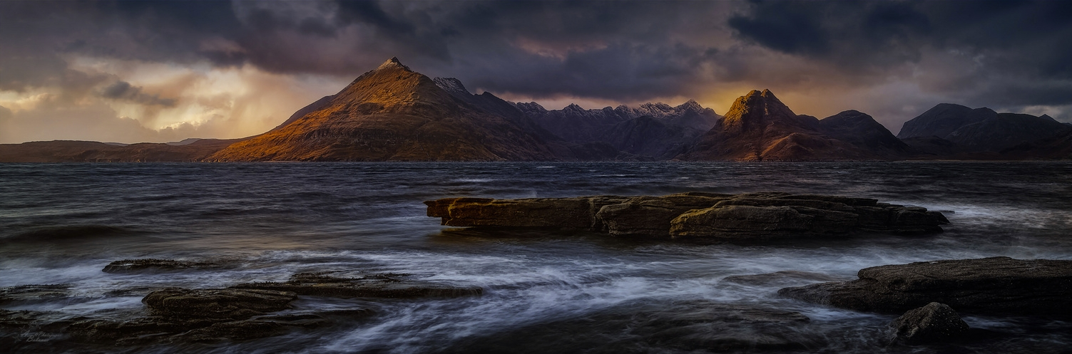 The Cuillins...